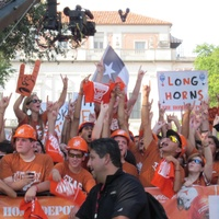 Austin Photo: News_Kevin_Longhorn Network_GameDay fans_August 2011