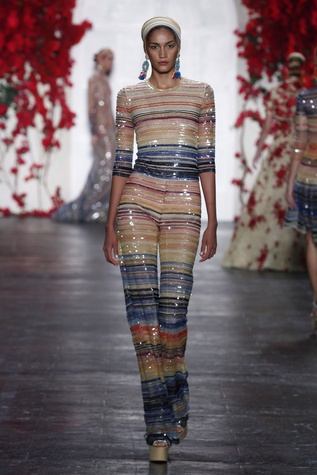 Naeem Khan spring summer 2016 collection look 11