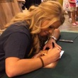 Kendall Jones signing autographs hunting convention August 2014