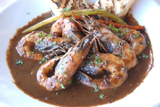 L.A. Bar barbecue shrimp