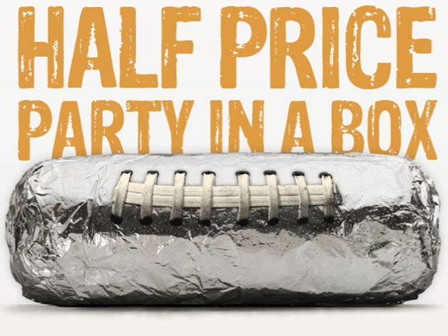 chipotle burrito super bowl