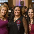 117 Erica Janke, from left, Carina Bryars and Meredith Savoie at the HAA inaugural 40 under 40 party September 2014