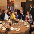 Fairfax Randall, from left, Matt and Karen Williams, George and Ellen Peckham and Risher Randall at the San Jacinto Monument dinner November 2013