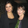 Sujey Franco, Jean Bateman at MS On the Move Luncheon kickoff
