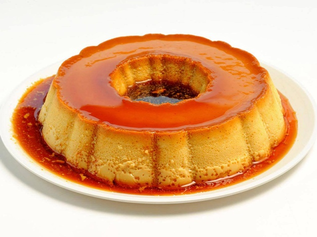 Pico's Amaretto and Vanilla Flan