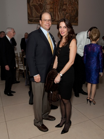 12 Herman and Aliyya Stude at the MFAH Impressionism dinner December 2013