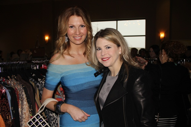 1 Lea Bodie, left, and Robin Johnson at the Rodeo Trailblazer Awards Luncheon February 2015