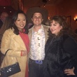 Miya Shay, Corbett Parker and Sonia Soto at Arturo's