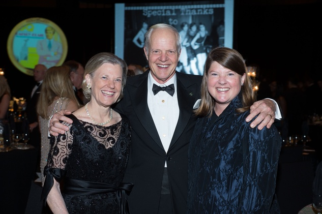 Susan and Dr. Richard Stasney, from left, with Kathryn Stasney Childers at the Covenant House Gala April 2014
