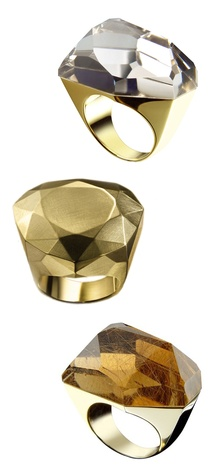 DvF for H Stern Cocktail Rings