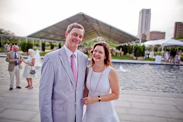 News, Shelby, Hermann Park Conservancy, Evening in the Park, April 2015, Dan Piette and Doreen Stoller