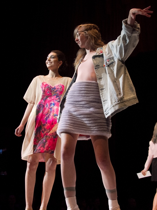 Spectrum UT Senior Fashion Show 2014 Tilde Snyder