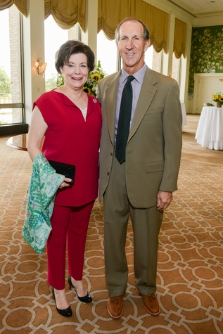 News, Shelby, Terry Bradshaw luncheon, Phyllis Selber, Jack Selber, Sept. 2014