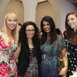 14 Lauren Swenson, from left, Lisa Diplacido, Nila Ray and Candace Moore at WOW with Kendra Scott October 2014