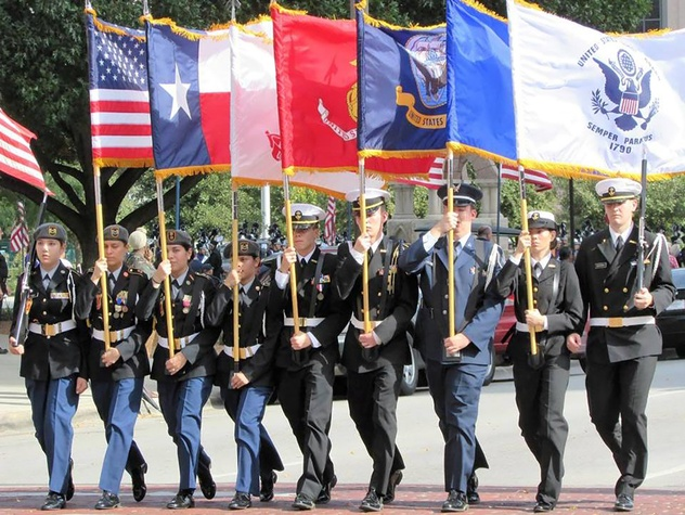 Tarrant County Veterans Council presents Fort Worth Veterans Day Parade