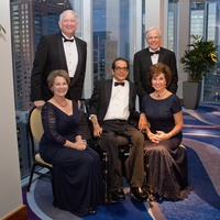 Houston Baptist University, November 2012, Robert B Sloan Jr., Sue Sloan,  Charles Krauthammer, Jim Smith, Sherry Smith