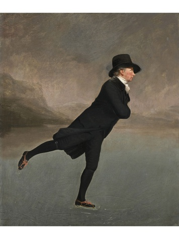 Sir Henry Raeburn, Revd. Robert Walker, Skating on Duddingston Loch