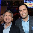 14 Ron Trevino, left, and Gabe Canales at the Blue Cure Foundation benefit party at Hotel ZaZa June 2014