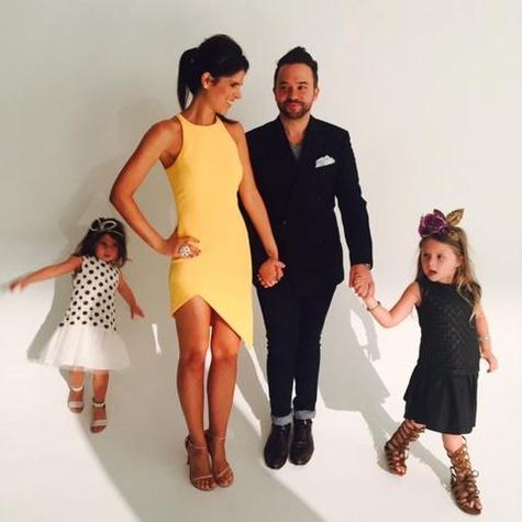 When At Home Godfrey Focuses On His Family Courtesy Of Photo Jay JoJo Blue Dress