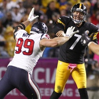 J.J. Watt Texans Steelers