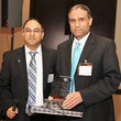 2 Supryo Sen, left, and Dr. Anil Sood at the Ovarcome Gala May 2014