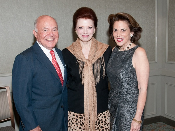 Torch of Liberty dinner, November 2012, George Stark, Angela Blanchard, Lois Stark