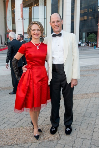 Jones Hall 50th Ball, Co-chairs David and Alexandra Pruner