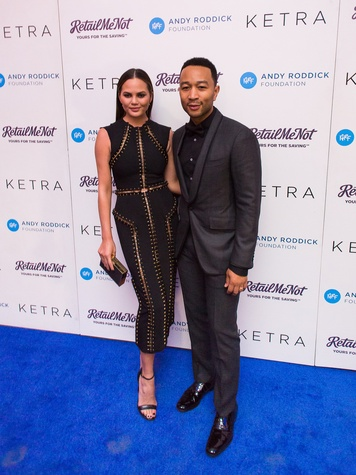 Andy Roddick Foundation Gala 2016 Chrissy Teigen John Legend