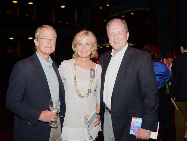 5 37 Bill and Cynthia Kinney, from left, with Joe Thomson at the Casa de Esperanza benefit April 2014