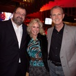 Dr. Bob Sanborn, from left, Susanne Starling and Tom Stephens at Churrascos' grand opening event February 2014