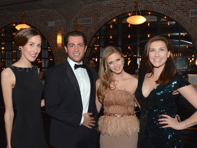 Leigh-Ann Laughlin, Guillermo Sierra, Auction Co-Chairman Tatiana Galitzine, Elizabeth Gregory at Stages Gala