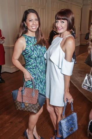 Anika Jackson, Staci Henderson at Passion for Fashion luncheon