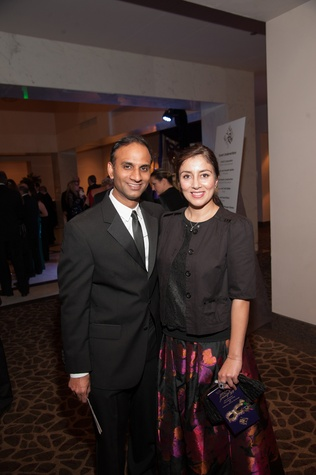 101 Dr. Faez and Yasmeen Zaman at the Eye Ball February 2015