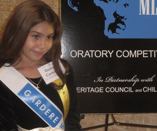 Austin Photo Set: News_Mike_MLK Oratory contest_jan 2012_4