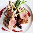 Rack of Lamb with Mixed Berry Chutney