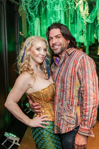 22 magan m hunt and jared davis at the patroleum club halloween party november 2014 - Wild Halloween Party