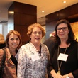 Kathryn McNiel, from left, Ellen Cohen and Rita Lucido at the Jane's Due Process fundraiser February 2015
