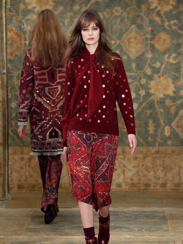 Clifford Fashion Week New York fall 2015 Tory Burch March 2015 Look 26