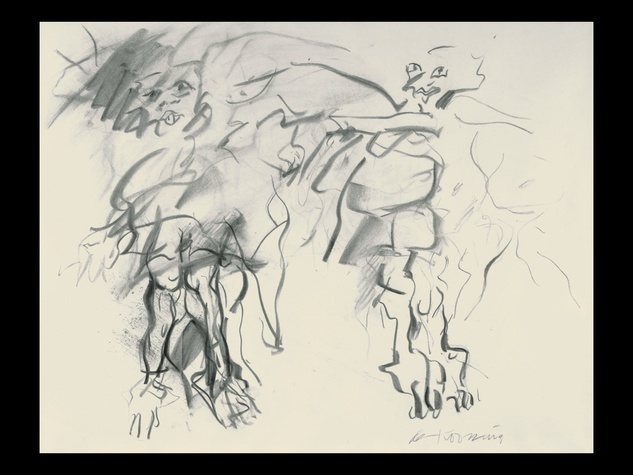 News_The Menil_De Kooning