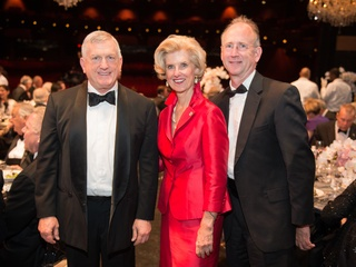 1979 Gary Hollinsworth, from left, Terrylin Neal and Ken Hyde at the Houston Grand Opera HGO 60th Anniversary March 2015