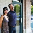 News, Shelby, Ballet Barre kick-off, August 2014, Grace Salinas, Steve Keurlebure