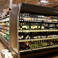 Heights Kroger, tour, October 2012, wine, beer