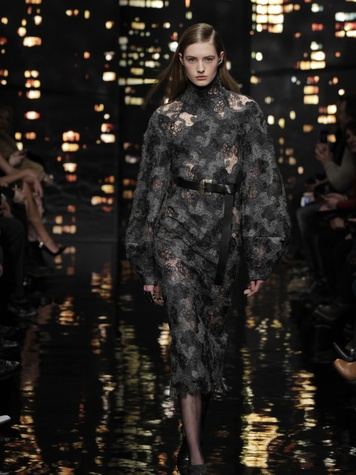Look 9 Clifford Pugh New York Fashion Week fall 2015 February 2015 Donna Karan