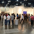 18 crowd, venue at the Texas Contemporary Art Fair VIP opening party October 2013