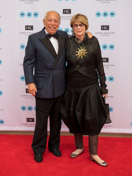 Ransom Center World of Wonders Gala 2017 Michael Klein Jeanne Klein