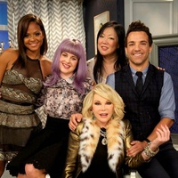 Fashion Police cast Christina Milan, Kelly Osbourne, Joan Rivers, Margaret Cho, George Kosptiopoulous