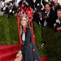 Sarah Jessica Parker at Met Costume Institute Ball