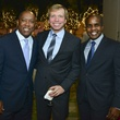 8 Sylvester Turner, from left,  Jonathon Glus and Alton LaDay at the Holiday Schmooze December 2013