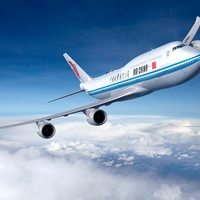 Air China, airplane, jet