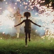 Beasts of the Southern Wild, girl, sparklers, Quvenzhané Wallis